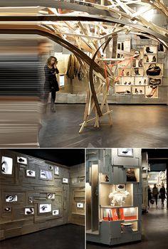 Boutique « l'éclaireur Paris » par Arne Quinze Studio