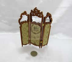 Miniature 1:12 Scale Screen With Mirror For by UOLHKscalefurniture