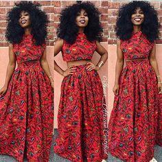 Made by © @midget_giraffe ~African fashion, Ankara, kitenge, African women dresses, African prints, African men's fashion, Nigerian style, Ghanaian fashion ~DKK