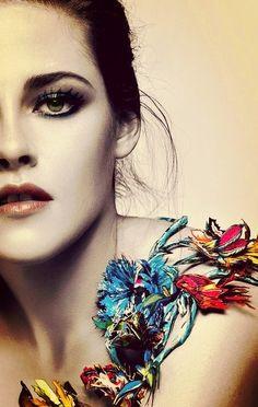 Kristen Stewart for Balenciaga Florabotanica