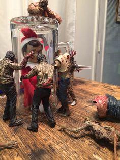 Elf on the Shelf meets The Walking Dead!
