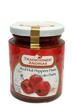 Tradiciones Andinas Rocoto Pasta 7.5 oz - Zocalo Foods