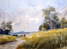 Im Innviertel Painting, Watercolor, Pictures, Painting Art, Paintings, Painted Canvas, Drawings
