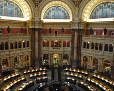 Library of Congress.  When I was about 8, I fantasized about visiting to read all of the Bobbsey Twins and Nancy Drew books I couldn't find in my local library.