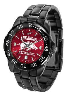 Arkansas Razorbacks Fantom Sport Men Watch With AnoChrome Dial – Cooler Time