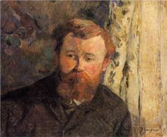 Portrait of a Achille Granchi Taylor by Paul Gauguin in oil on canvas, done in Now in Kunstmuseum Basel. Find a fine art print of this Paul Gauguin painting. Paul Gauguin, Henri Matisse, Pablo Picasso, Impressionist Artists, Art Database, Art Moderne, French Art, Portrait Art, Portraits