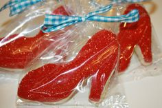 RUBY SLIPPER COOKIE CUTTER Wizard of Oz Inspired Ruby Slipper
