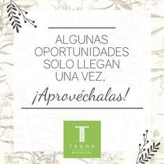 Algunas oportunidades solo llegan una vez, ¡Aprovéchalas!  #tienesunacitaconelplaneta  #savethedatewithplanetearth #terrabiohotel #hotelescolombia #turismosostenible #ecoturismo #ecoturismocolombia #slowlife #colombia