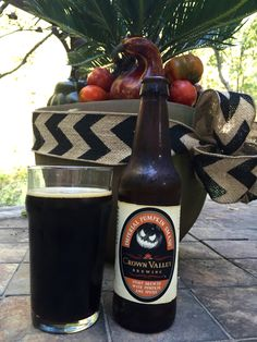 Crown Valley Imperial Pumpkin Smash is a stout brewed with pumpkin, chocolate and toffee. It has a sweet taste from the pumpkin spices and toffee and ends with a bitter aftertaste from the chocolate. Very sticky mouthfeel, but i do like this beer. Perfect for the first day of fall