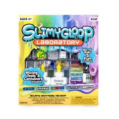 Slimy Gloop Slime Laboratory - Ultimate Slime Kit for 5 Fun Creations Slime Kit, Diy Slime, Cara Membuat Slime, Inexpensive Christmas Gifts, Beauty Kit, Shopkins, Sister Gifts, Crafts For Kids, Diy Crafts