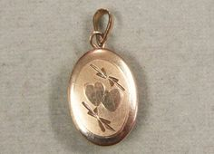 Tiny 14K Gold Filled Locket Heart Engraving for your by COBAYLEY, $28.00