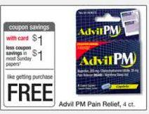 FREE Advil PM at Walgreens