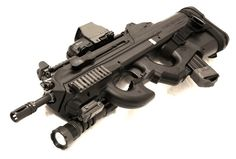 FS2000 with a switched out foregrip. It looks to me like an FN P90 foregrip. jdm