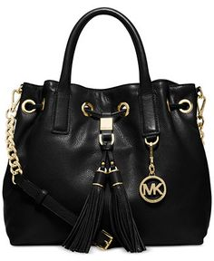 e66ad762110b66 MICHAEL Michael Kors Camden Medium Drawstring Satchel Handbags & Accessories  - Macy's