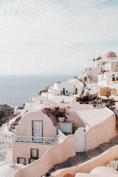 Greek island getaway.