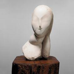 Collection Online | Constantin Brancusi. Muse (La Muse). 1912 - Guggenheim Museum