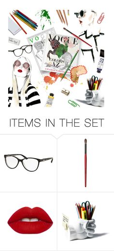 """""""VOGUE COLORS A to Z"""" by magdafunk ❤ liked on Polyvore featuring art, colorful, vogue, FashionIllustration and KnopfDoubledayPublishingGroup"""