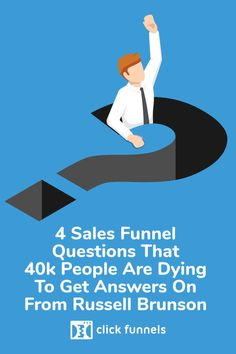 4 Sales Funnel Questions That People Are Dying To Get Answers On From Russell Brunson Check to Get the Best Sales Funnel Questions Answered. Guerilla Marketing, Inbound Marketing, Internet Marketing, Online Marketing, Sales And Marketing, Marketing Tools, Social Media Marketing, Marketing Ideas, Sales Process
