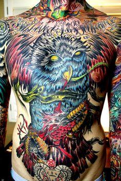 Vocalistas y sus Tatuajes