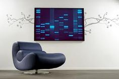 The world's original DNA Art portraits printed on canvas as personalized artwork from your DNA and fingerprints. The perfect unique gift as seen on BBC and CNN