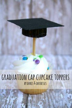 graduation cap cupca