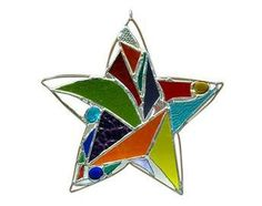 stained glass star creations by Purloin Studio