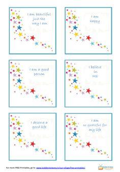 affirmations for children   Positive Affirmations For Kids