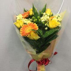 誕生日用の花束を作成しました 4079039