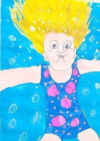Do Art!: Underwater Self Portrait