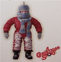 HALLMARK 2007 * I CAN'T PUT MY ARMS DOWN * A CHRISTMAS STORY * RANDY * ORNAMENT