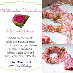 Do you know the metaphysical properties of watermelon tourmaline 🔮📿🕉?