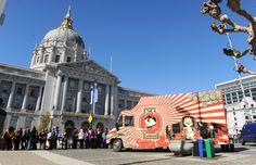 101 Best Food Trucks in America 2013 Slideshow Best Food Trucks, New Trucks, San Francisco Food Trucks, Semi Truck Cakes, Fire Truck Craft, Citroen H Van, Food Truck Design, Food Design, Design Ideas
