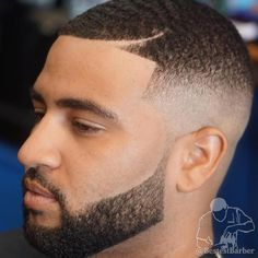 Extra Short Fade With Line Up