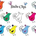 Here is a set of 9 Birdie Clips in the colors that are posted on the cover.  Enjoy!   This is what it reads on the credit sheet in the download:  C...