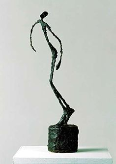 You're not a sculpture  Alberto Giacometti, swiss sculptor, 1901-1966