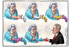Peter Brookes cartoon