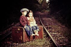 Adorable picture from Layden studio & design. Love the vintage look!