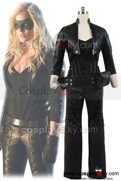 Cosplaysky have just released a Black Canary costume! http://cosplaysky.com/green-arrow-black-canary-sara-lance-cosplay-costume-artificial-leather-outfit.html