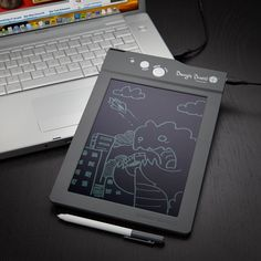 Meet this digital eWriter - it writes like a pen and paper but also saves the notes to your computer for editing later.