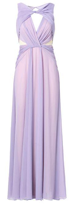 Pastel Petunia Gown