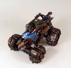 Beasts of War, Warhammer 40K, Warmachine, Flames of War, Wargaming News, Boardgames | Groups | Orks | Forum | Ork Buggy Conversion Aid