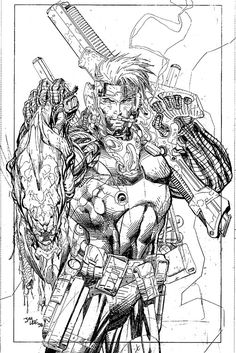 Jim Lee - So freakin' 90s and yet I still love it.
