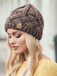 Vogue Knitting, Baby Knitting, Crochet Baby, Knit Crochet, Beanie Hats For Women, Winter Hats For Women, Knitting Patterns Free, Knit Patterns, Knit World
