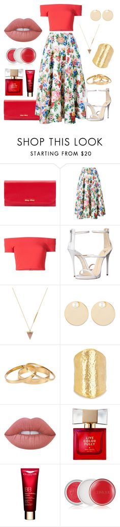 """"""":)"""" by liora134 ❤ liked on Polyvore featuring Miu Miu, Emilia Wickstead, Alice + Olivia, Giuseppe Zanotti, Wolf Circus, Auden, Dsquared2, Kenneth Jay Lane, Lime Crime and Kate Spade"""