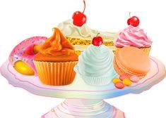 Fruchtige Tortencreme einfach und schnell zubereitet Tea Illustration, Illustrations, Macaroons, Recipe Collection, High Tea, Love Food, Smoothies, Tea Pots, Cupcakes