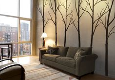 Forests Tree Wall Decal Decor