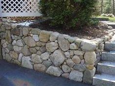 West Linn rock retaining wall concrete