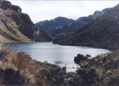 Parque Natural Santurbán Santander Laguna de Paez. Paramo de Santurban. Colombia. Zona declarada de conservación.
