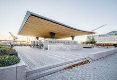 Helsingborg station, south entrance, Sweden - by Felix Gerlach