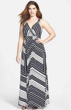 #Jessica Simpson          #Dresses                  #Jessica #Simpson #Stripe #Maxi #Dress #(Plus #Size)                          Jessica Simpson Stripe Maxi Dress (Plus Size)                                 http://www.snaproduct.com/product.aspx?PID=5198166